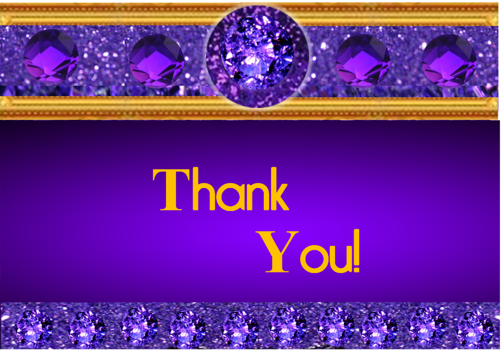 Thank You Image - Attributions